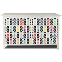 banjado Möbelaufkleber passend für IKEA Hemnes Kommode 8 Schubladen   Selbstklebende Möbelfolie   Sticker Tattoo perfekt für Wohnzimmer und Kinderzimmer   Klebefolie Motiv Mutterkorn