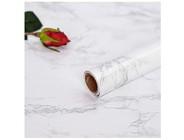 Möbelfolie Selbstklebend Folie Marmor Klebefolie für Möbel Tür Fensterbank Schrank Schminktisch DIY Vinyl Dekorfolie Wasserdicht PVC 30X200cm