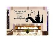 CLIFFBENNETT Jack and Sally Love Story Nightmare Before Christmas schöne Wohnzimmer-Dekoration oder Fenster-Aufkleber ca. 95 x 45 cm Schwarz