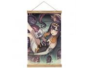 Hohe Qualität Wandbilder Deko Poster Virtual Ninomae Ina'nis Ho-lo-live 19 Poster Wandbild mit Rahmenzubehör fertig zum Aufhängen für die Heimdekoration -30cm '' × 50cm ''