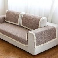 Sofa möbel protector für haustiere kinder Ganze saison Anti-rutsch Schnittsofa werfen abdeckung pad Sofa werfen slipcover Für l U-form sofa-1 stück-C 28x94inch70x240cm