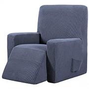 Honeyhouse Sofabezug Jacquard Sesselbezug Stretchhusse für Relaxsessel Komplett Elastisch Bezug für Fernsehsessel Liege Sessel