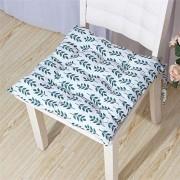 TTBD 40x40cm Büro Cotton Sitzkissen weich und atmungsaktiv Start Stuhlkissen Geeignet für Restaurant-Sitzauflage Grünes Blatt 40x40cm