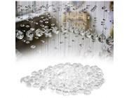 EFFACER Transparente schöne 0 8-Zoll-Acrylperlen dekorativer Acrylkristall für Hochzeitsfeierdekoration