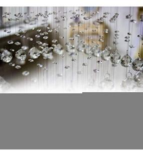 xianshi Valentinstag Karneval Dekorativer 0 8 Zoll langlebiger Kunststoffdiamant transparenter Acrylkristall für Partydekoration Fotografie Hochzeitsdisplay