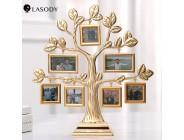 Baum Form Legierung Foto Rahmen Bilderrahmen 2020 Weihnachten Geschenk Kreative Hochzeit Souvenir Goldene Hause Dekoration 7 stücke Fotos Rahmen