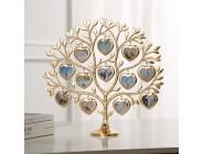 LASODY Strass Familie Baum Foto Rahmen Baum Form Rahmen 12 Kleine Bild Rahmen 2020 Weihnachten Geschenk Kreative Hause Souvenir Rahmen