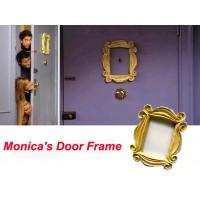 Neue Machen Alte Freunde TV Show Monica der Tür Gelb Guckloch Gelb Rahmen Sehr Gute Finish yellow frame old frametv frame