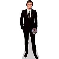 Celebrity Cutouts Evan Peters Black Suit Pappaufsteller lebensgross
