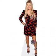 Celebrity Cutouts Fergie Duhamel Lips Dress Pappaufsteller lebensgross