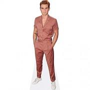 Celebrity Cutouts KJ APA Pink Suit Pappaufsteller Mini