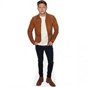 Celebrity Cutouts Niall Horan Brown Jacket Pappaufsteller lebensgross