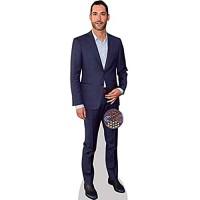 Celebrity Cutouts Tom Ellis Suit Pappaufsteller Mini
