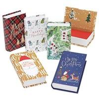 Gartner Studios Weihnachts-Geschenkkartenhalter Set 2 x 5 klassische Designs 7 6 x 12 7 x 3 2 cm 10 Stück