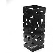 Versa Schirmständer aus Metall und Kunststoff 52x19x19cm 52 x 19 x 19 cm schwarz