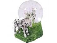 PIA International Glitzerkugel Zebra Schneekugel Tier Tiere Schneekugeln Zebras