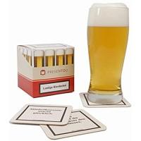 Presentou 45 Lustige Bierdeckel Getränke-Untersetzer mit Warnhinweisen   Party-Gag   Glas-Untersetzer als Gastgeschenk für den nächsten Pokerabend oder Jungesellen-Abschied   Männergeschenk