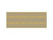 Plage Bordüren TANKATA-Gelb 300x10cm Acryl 300 x 0 2 x 10 cm