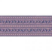Plage Bordüren TANKATA-Lila 300x10cm Acryl 300 x 0 2 x 10 cm