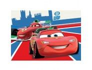 Bavaria Home Style Collection Cars Lightning McQueen und Francesco Bernoulli Kinderteppich Teppich Kinderteppich Kinder Teppich Spielteppich darf in keinem Kinderzimmer fehlen 95 x 133 cm