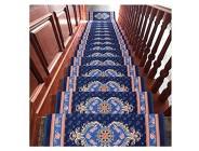 HSWYJJPFB Treppenteppiche Stufenmatten Treppen-Teppich Rechteck Satz von 15 65x24 cm Dicke 10 mm Selbstklebend Treppenpads Matte/Teppich for die Treppe Nicht leicht zu rutschen Nicht leicht zu rutsc