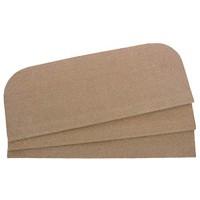 QYOnline 15 Satz von Treppenstufe -Teppich für Treppen Schritt Stufenmatten Rutschfeste Klebstoff Teppich/Matte für Treppenstufen Khaki 23 x 45 cm