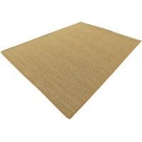 HEVO Salsa Design Sisal Teppich Honig mit klassischer Kettelkante 200x250 cm