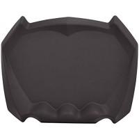 Basics ergonomische Anti-Ermüdungsmatte für Stehschreibtische Büromatte akupunkturstimulierende Oberfläche 80 x 62 5 x 7 6 cm Braun