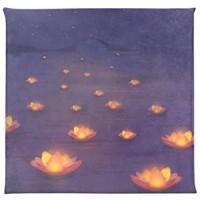 UMIRIKO Stuhlkissen Memory-Schaum-Pads weich quadratisch für Stuhl Lotus-Lampe Hoffnung Wunsch 40 6 x 40 6 cm 2020798