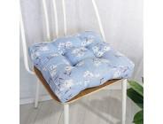 Yuly Weiches quadratisches Sitzkissen aus PP Baumwolle praktisches Sitzpolster für drinnen und draußen bequemes Ultra Dickes Wohnzimmer Garten Tatami Stuhlkissen