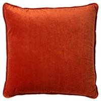 Dutch Decor Dekokissen Orange - Finn 60x60 cm Potters Clay - Zierkissen ohne Füllung Kissenhüllen quadratisch Kissen Polyester