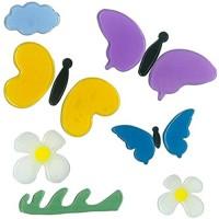 MagicGel Fensterbilder - Schmetterlinge Fensterdeko Spiegeldeko