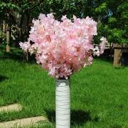 Künstliche Blume 160 Köpfe Seide Kirschblüte Seide Künstlicher Blumenstrauß Künstlicher Kirschblütenbaum Für Wohnkultur