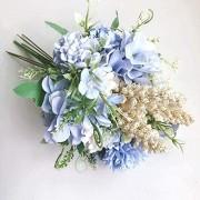 Künstliche Blumen Künstliche gefälschte Blumen Weiße Braut-Holding-Hochzeits-Blumenstrauß for Shoting Hochzeit Home Hotel-Partei-Dekoration Blumenarrangements
