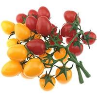 Gresorth 2 Pack Künstliche Kirsche Tomatees Faux Gefälschte Früchte Obst Party Festival Dekoration