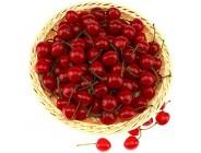 Gresorth 50 Stück Künstliche Lebensechte Rot Kirsche Kirschen Deko Gefälschte Früchte Obst Party Festival Dekoration