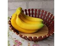 Künstliche Bananen 17 * 9 5 cm Wohnkultur Tisch Einrichtung Kunststoff Simulation Dekorative Obst Fotografie Requisiten Neu Freigegeben