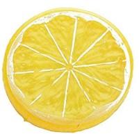 LINMAN LMH 10 stücke Künstliche Früchte Kunststoff Zitrone Realistische Scheiben Lebenswerte Dekorative Gefälschte Obst Neue Beitragsgeschenke für Partyküche Color : A