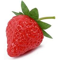 LINMAN LMH 5 stücke Künstliche Frucht Gefälschte Erdbeer-Kunststoff DIY Simulation Erdbeerverzierung Handwerk Fotografie Requisiten Weihnachten Wohnkultur Color : S5pcs