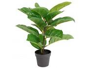Spetebo Künstliche Zimmerpflanze im Topf 38 cm - Deko Pflanze künstlich Kunstpflanze