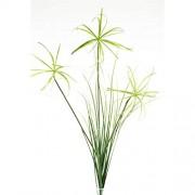 DauerFloristik Papyrus Zweig Gras künstlich naturgetreu 117 cm