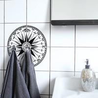 Boubouki - Wasserabweisende Fliesenaufkleber für Bad und Küche - Fliesen-Aufkleber Kacheln in allen gängigen Größen - Com Passo Poster - 15x15cm Transparent